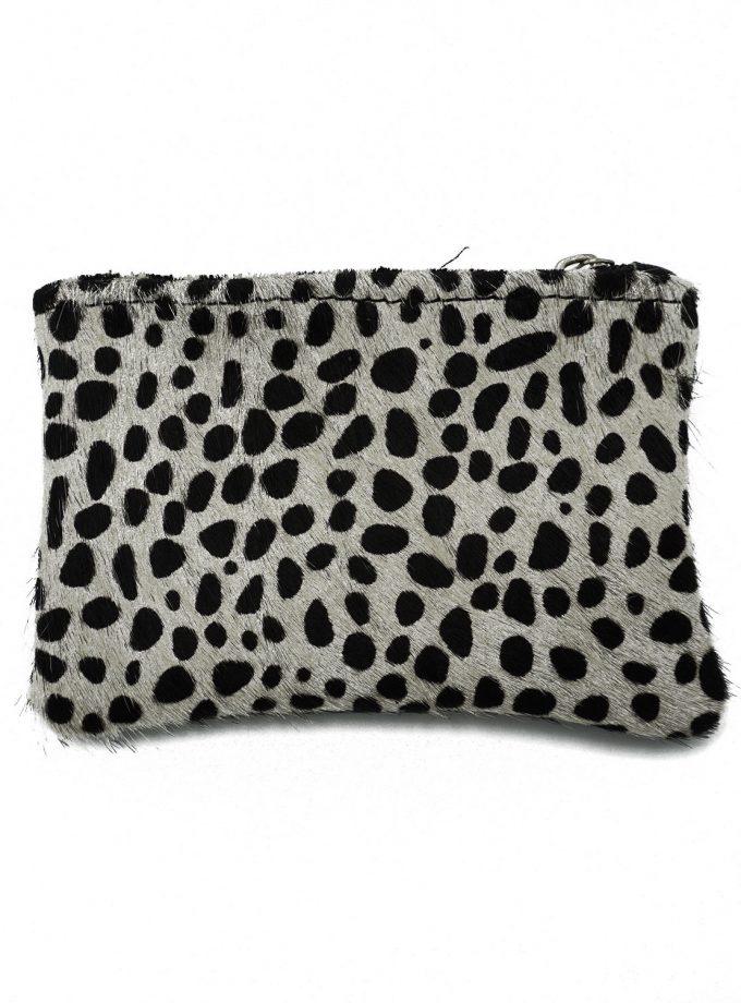 Black & White cheetah wallet