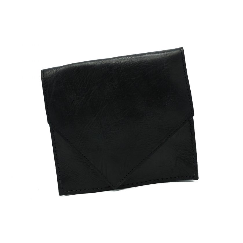 Ciss Cross black leather bag